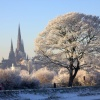 Lichfield Cathedral  from Stowepool