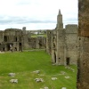 Warkworth Castle Bailey and Church
