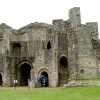 Warkworth Castle Gatehouse inside view