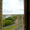 Warkworth Castle view from Great Tower