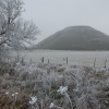 Silbury Hill in the Snow