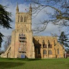 Pershore Abbey south elevation