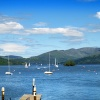 Lake Windermere from Bowness landing stage
