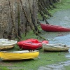 Colourful Dinghies