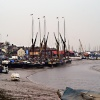 Thames barges at Maldon.