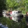 Narrowboat Reflection
