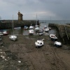 Lynmouth harbour – Low tide