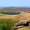 Winn hill from Stanage Edge