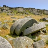 Abandoned millstones on Stanage Edge