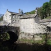 Gibson Mill at Hardcastle Crags in West Yorkshire