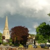 Evening Market Square, Masham