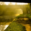 Misty morning on the South Yorkshire Canal