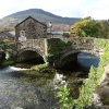 The bridge at Beddgelert