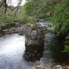 Big rock in Oughtershaw beck