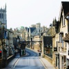 www.rutlandcottage.com View over Stamford Bridge to St Martins