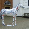 Painted Horses in and around the town of Newmarket