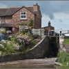 Cholmondeston Lock.