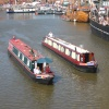 Narrowboats and Tall Ships