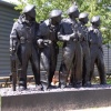 Royal Tank Regiment Memorial Statue, Bovington