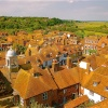 View of Rye from the Church Tower.