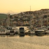 Sunset over Brixham.