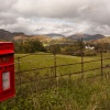 Post box, middle of nowhere