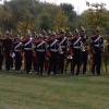 Bandsmen at the National Arboretum