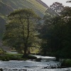 Evening draws in at Dovedale