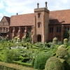 The Old Palace and the Knot Garden