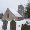 Snowy time at Church - Fetcham