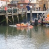 A rescue begins at Whitby