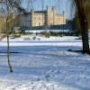 Leeds Castle winter snow