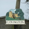 Covington Village sign
