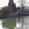 Patent One-Man Water Chute at Wicksteed Park