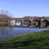 Bridge over the River Wye, Llandrindod Wells