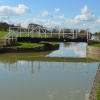 Swing bridge over the Kennet and Avon Canal