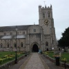 Christchurch Priory in March
