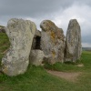 Long Barrow, West Kennett