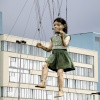 Aerial dance, Liverpool Sea Odyssey.