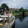 The riverside at Fordingbridge, Hants