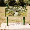 Pedham Green, Village Sign