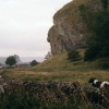 Kilnsey Crag in the Yorkshire Dales