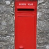 Lundy Island post box