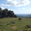 Haytor on a cold Spring day