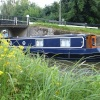 Miss B and Pyrford Lock