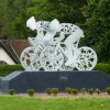 Olympic Cycle Sculpture