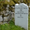 Milestone at Hopton