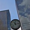 Canary Wharf Clock, London