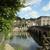 Bradford-On-Avon, bridge and the river Avon