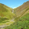 The Grey Mare's Tail near Moffat in Scotland.